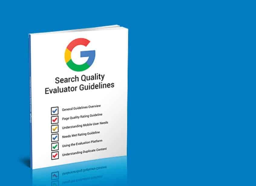 کتاب راهنمای ارزیابی ارزش صفحات از دید گوگل