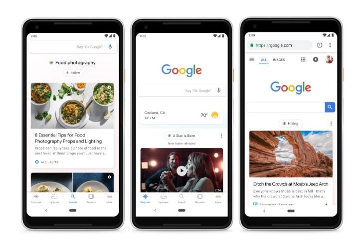 گوگل دیسکاور (Google Discover) چیست؟